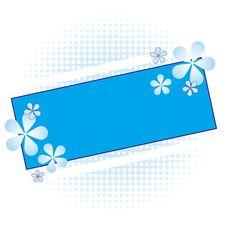 Free Floral Frame Illustration Royalty Free Stock Image - 25963136