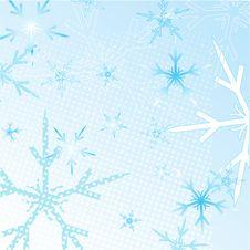Free Winter Snowflakes Background Stock Image - 25963331