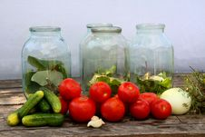 Free Pickling Of Vegetables Royalty Free Stock Image - 25968936