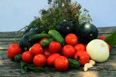 Free Vegetable Assortment Stock Photos - 25969003