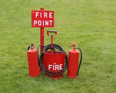 Free Fire Point. Royalty Free Stock Photography - 25969667