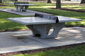 Free Cement Ping Pong Tables Royalty Free Stock Photos - 25971938