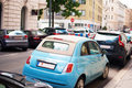 Free Fiat 500 On The Street Royalty Free Stock Photos - 25976268