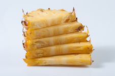 Free Pineapple Section And Slices Stock Photography - 25971842