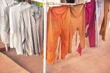 Indian Shirts And Pants Royalty Free Stock Image