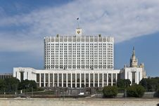 Free House Of The Government Of The Russian Federation Stock Photos - 25972263