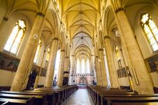 Free View Inside Vienna Church Royalty Free Stock Image - 25976146