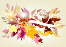 Free Flourish Background With Space For Text Royalty Free Stock Image - 25977866