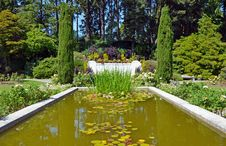 Free Botanical Garden Pond Stock Photos - 25978163