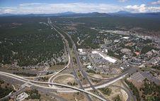 Free Interstate 17 & 40 Interchange Stock Photo - 25978780