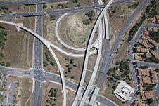 Free Interstate 17 & 40 Interchange Royalty Free Stock Photo - 25978805