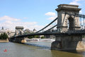 Free Chain Bridge In Budapest, Hungary Royalty Free Stock Images - 25980469