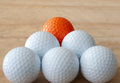 Free One Different Golf Ball Royalty Free Stock Photos - 25981408