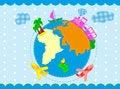 Free Travel Background Stock Image - 25983031