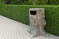 Free Trash Sculptures Stub. Stock Image - 25989231