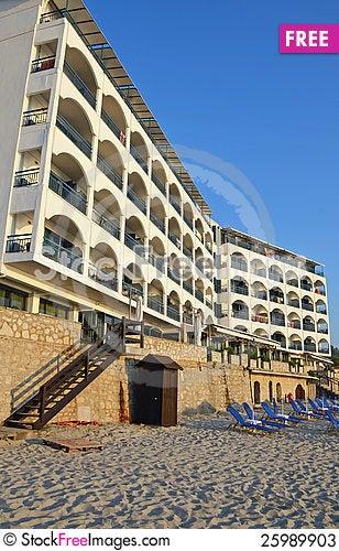 Free Kalitheea Beach Hotel Stock Photos - 25989903