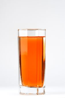 A Glass With A Red Drink Royalty Free Stock Images