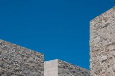 Free Angular Building In Abstract Stock Photo - 25980950