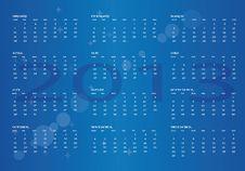 Free Calendar 2013 Royalty Free Stock Photo - 25981415