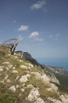 Free Mountain Crimea In Ukraine Royalty Free Stock Image - 25981596