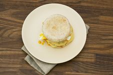 Free English Muffin Royalty Free Stock Images - 25984829