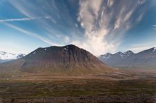 Free Huge Mountains In Iceland In Wonderful Light Stock Photos - 25986103