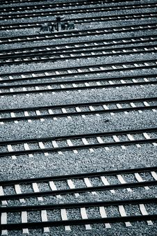Railway Texture Pattern Background Stock Images