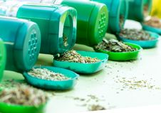 Free Dry Herbs - Spices Stock Image - 25988681