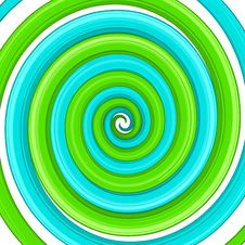 Art Glossy Twirl. Abstract Background EPS 8 Royalty Free Stock Photos