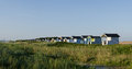 Free Beach Huts - Panorama Stock Photography - 25995912