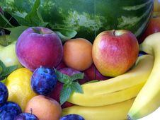 Free Mix Of Fruits Royalty Free Stock Photos - 25990678