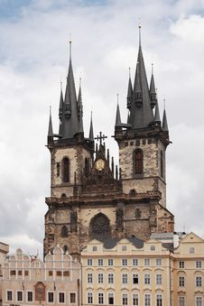Free Church Of Our Lady Before Tyn Stock Photography - 25990962