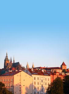 Free Prague At Dawn Stock Photo - 25990970