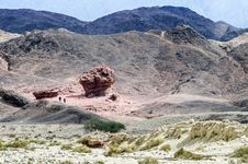 Free Geological Formations In Timna Park, Israel Stock Images - 25991624