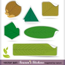 Free Premium Four Seasons Labels Stock Photo - 25992030