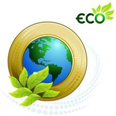 Free Green Earth - Green Planet Stock Photo - 25992340