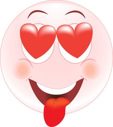 Free Love Smiley, Icon, Emotions Stock Images - 25992914