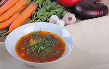 Free Vegetable Soup Stock Photos - 25993553