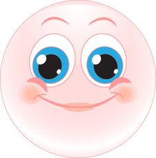 Smile Happy. Emotions. Icon Stock Images
