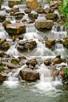 Free Waterfall Royalty Free Stock Photos - 25995448