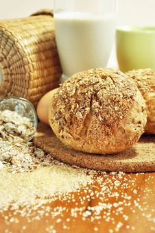 Free Multigrain Breads Royalty Free Stock Photos - 25996488