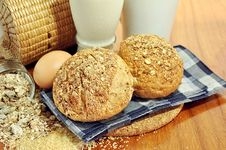 Free Multigrain Breads Royalty Free Stock Images - 25996489