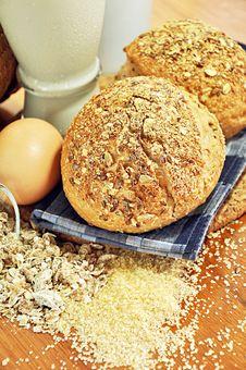 Free Multigrain Breads Stock Photo - 25996500