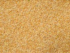 Dried Yellow Peas Royalty Free Stock Photo