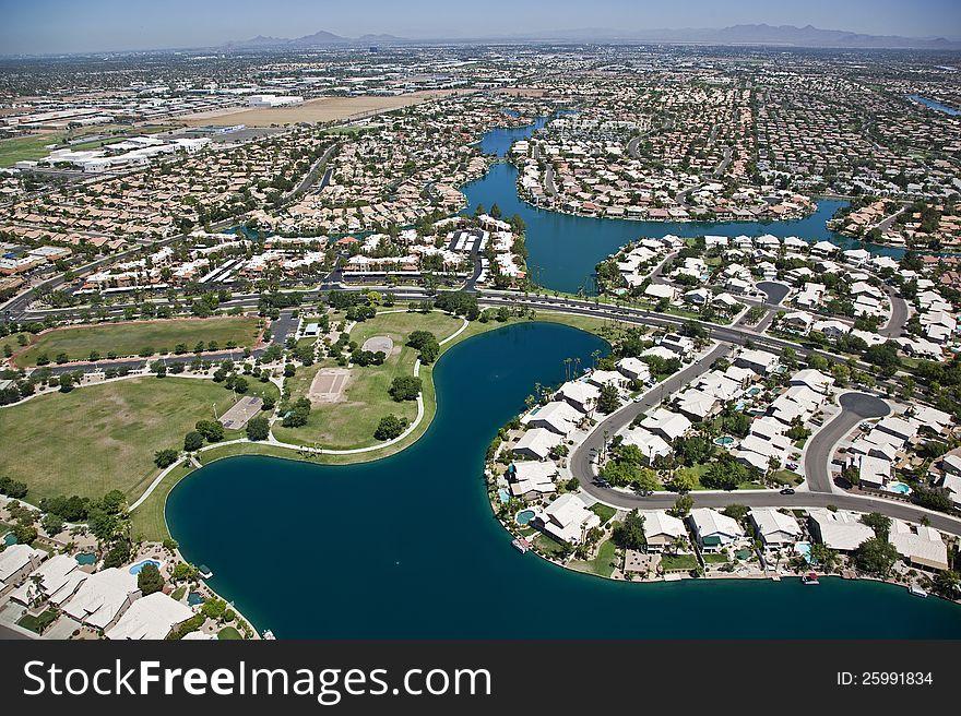 Planned Lakeside Community