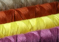Free Colorful Threads Stock Photography - 260592