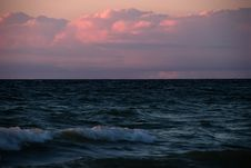 Free Sunset Simcoe Lake Royalty Free Stock Photo - 260765