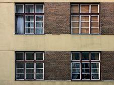 Free Four Windows Royalty Free Stock Image - 261636