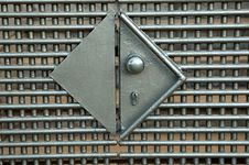 Free Iron Gate Lock Stock Images - 262244