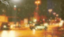 Free Rainy Night Background Stock Photography - 262392